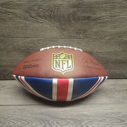 New Wilson Official Nfl Authentic The Duke Leather Game Football British Flag