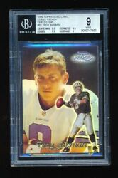 1999 Topps Gold Label Black Troy Aikman One Of One 1/1 Bgs 9 Mint