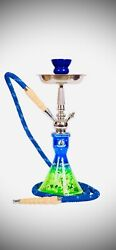 Starbuzz Hookah Green And Blue-new Color..