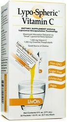 Livon Labs Lypo-spheric Vitamin C 1000mg- 30 Packets Brand New In Box Exp 6/2022