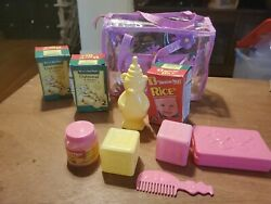 Beech Nut Jar Boxes + Baby Doll Play Food Accessories Toy Cdi Vintage 1996