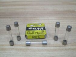 Agc-1/4 - 1/4 Amp Fast Acting Glass Tube Fuse 250v Ul Listed Pack Of 5