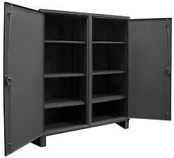 Durham - Hdds243666-6s95 - Storage Cabinet Gray 66 Overall Height Assembled