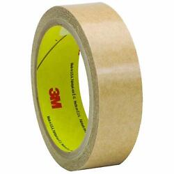 3m T965927 Clear 927 Adhesive Transfer Tape, Hand Rolls, 1x60 Yd. Pk Of 36