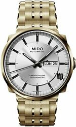 Mido M028.708.23.031.00 Stainless-steel Mido Big Ben Silver Dial Menand039s 42-mm