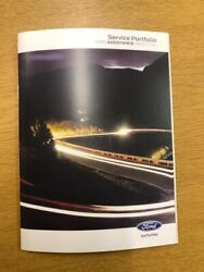 Ford Transit Service Book New Not Duplicate Super Fast Free Delivery