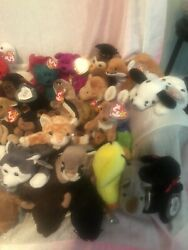 Ty Beanie Baby Lot - 125 Includes 18 Doubles All In Good Condition