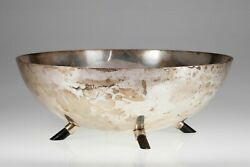 Reed And Barton Sterling Silver Footed Midcentury Center Piece Bowl 9