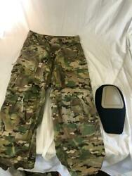 New Multicam Ocp Army Combat Pants W Knee Pad, Flame Resistant Small Short
