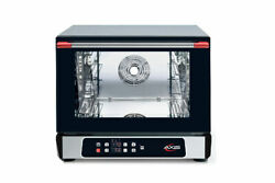 New Axis Ax-513rhd Half-size Digital Convection Oven With Humidity Control