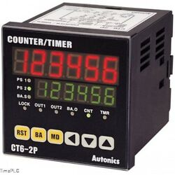 Autonics Programmable Timer Counter Model Ct6y-2p2t