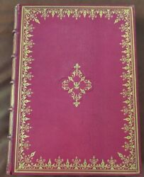 T. Worlidge A Select Collection Of Drawings 1768 Full Moroccan 1st Ed. Vol. 1