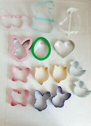 Spring Cookie Cutter Set Easter Tulip Bunny