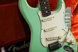 Used Fender Jeff Beck Stratocaster Green 2007 Electric Guitar Free Shipping