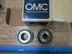 New Oem 0730p24 Omc Johnson Evinrude Gear And Bearing 980427 0980427