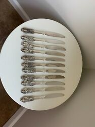 46 Piece Baroque By Godinger Silver Plate Utensils