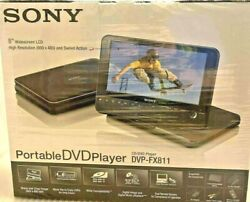 Sony Dvp-fx811 Portable 8 Widescreen Dvd Player With Wireless Remote And More