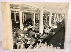 Vintage 1936 Horne's Downtown Pittsburgh Department Store Flood Photo Archive