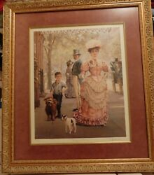 Alan Maley Rags And Riches Signed Ltd Edit Numbered Litho Art Print 474/500