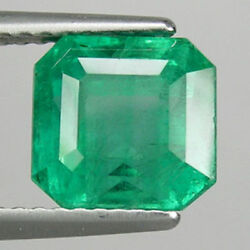 2.96cts Natural Emerald Nice Luster Top Green Zambia Loose Gemstone