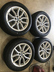 2020 Bmw X5 19 Inch Wheel Rims And Tires 10 Spoke W/ Center Caps