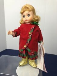 8 Madame Alexander Doll Andldquochristmas On Iceandrdquo Holiday Outfit Blonde Ice Skater C
