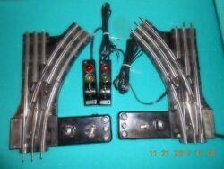 Lionel 022 Refurbished Switch Tracks 1 Pair W/ Rewired Controllers 100 + Sold