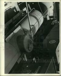 1942 Press Photo A Tank Car Is Loaded With Salvage Cooking Fat And Grease For Soap