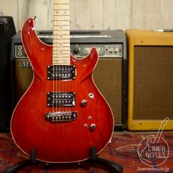 Used G-life Guitars G-phoenix Bloody Red Spinel Electric Guitar Free Shipping