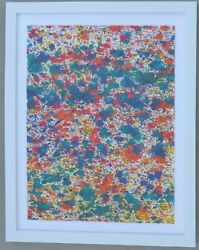 Wyland Pollack Coral Reef Unique Original Watercolor Painting Hand Signed Coa