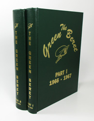 The Green Beret Magazine 1966-1970 - Special Forces Vietnam - Hardcover Set