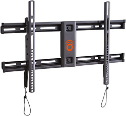 Echogear Wall Mount For Tvs Up To 90 - Low Profile Design Holds Your Tv Only 2.