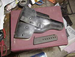 Walther P38 Or P1 Holster With 8 Round Factory Magazine Old German Police