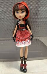 Ever After Monster High Cerise Hood Doll Hat-tastic Party 1st Edition Release