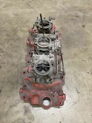 Big Block Chevy 1958 348 Tri Power Manifold With Carbs And Linkage