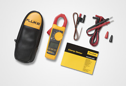 Fluke 324 True Rms Clamp Meter, Ac Current To 400 Amp, Ac And Dc Voltage To 600v