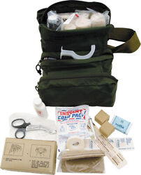 First Aid Fa108 Kit M 3 Medic Bag Used By Military Medics Comes In Olive Drab