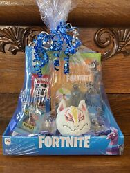40pc Fortnite Gift Basket Action Figure Weapon Plush Llama Book Party Favors Toy