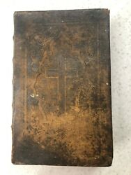 1864 Antique German Bible By Dr. Martin Luther.