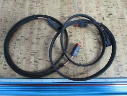 New Oem Lot Of 2 0750p29 Omc Johnson Evinrude Horn Extension Cable 176718