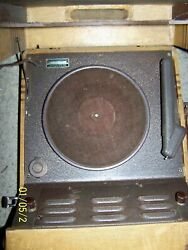 Vintage Sears Silvertone 78 Rpm Record Player 78 Only