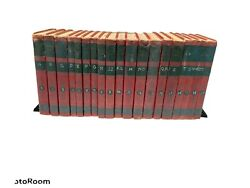 The World Book Encyclopedia Complete Set 19 Vol With Reading Ref/supplement 1954