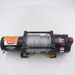 Warn 12v Pro Vantage 4500 Winch W/cable Only No Hook Fairlead Mount Or Remote