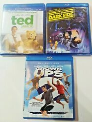 Blu Ray Comedy Funny Bundle Set Of 3 Ted Unrated Family Guy Grown Ups 2
