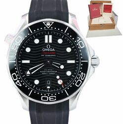 2019 Omega Seamaster Diver 300m 42mm Co-axial Black Watch 210.30.42.20.01.001