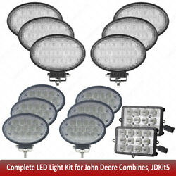 Led Light Kit For John Deere Combine 9470sts,9560sts,9570sts,9650sts,9660st +++