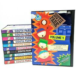 South Park Dvd Lot Of 11 Comedy Central Tv-ma