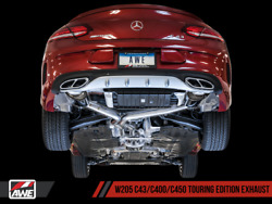 2017 2018 Mercedes C43 Amg 4matic W205 Coupe Sedan Awe Touring Exhaust System