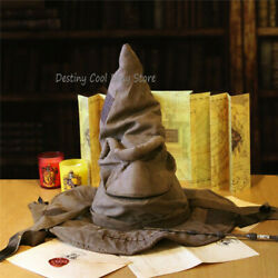 Movie Harry Potter Hogwarts Wizard Hat Gift Sorting Hat Voice Version Cosplay