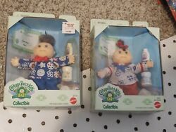 Cabbage Patch Kids Baby And Kid Collectible 1995 Mattel Lot Of 2 Molly And Vanna